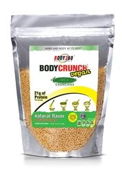 Body 360 BodyCrunch Vegan Pea Protein Crunchies, Natural Unsweetened are a natural, delicious and crunchy way to add protein to your favorite food or baking recipe. of protein per serving. Best Whey Protein, Plant Protein, Protein Snacks, Healthy Snacks, Vegan Protein Supplement, Protein Supplements, Best Weight Loss Supplement, Bariatric Recipes, Bariatric Food