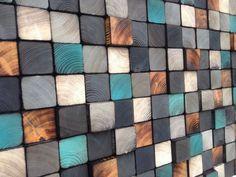 Arte de la pared escultura de madera reciclada por WallWooden