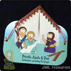 Priscilla & Aquila (Acts 18) | Make 2