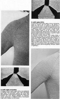 maniche 2 Knitting Videos, Weaving Patterns, Lana, Knitwear, Knit Crochet, Wool, Stitch, Creative, Ideas