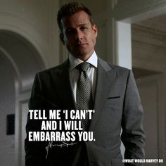 Go ahead.#WhatWouldHarveyDo #harveyspecter #gabrielmacht