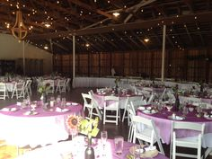 pink table cloths with a simple sunflower