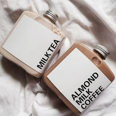 milk tea x almond milk coffee Almond Milk Coffee, Iced Coffee, Coffee Shop, Coffee Mix, Brown Aesthetic, Aesthetic Food, Aesthetic Coffee, Aesthetic Grunge, Mocca