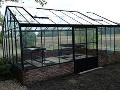 Voorbeelden hobbykas|tuinkas|muurkas|orangerie - Vermeulen Groessen
