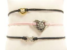 DIY-Anleitung: Zierliches Armband mit Schiebeknoten selber machen via DaWanda.com