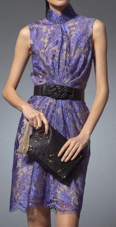 #lace #cheongsam #qipao #ChineseDress  https://www.shanghaitang.com/en-sg/women/dresses/lace-dress-purple-FD156J204PU.html