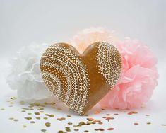 Lebkuchen Herz Lace Ginger Beard, Paper Board, Heart, Gifts