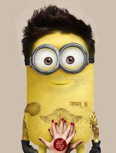 Adam Levine's Minion! This is the best minion pic hahaha @Nina Gonzalez Gonzalez Gonzalez Gonzalez Gonzalez Gonzalez Hicks