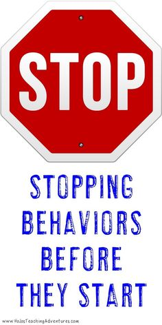 Do you have students that are acting up in class? Maybe crazy behavior in the classroom is starting to get to you. The best way to handle behaviors is to stop them before they even start! Use these 12 tips and ideas to stop behaviors before they start and