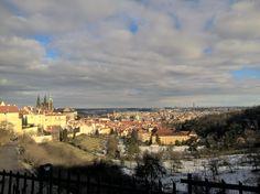 View on Prague Grad