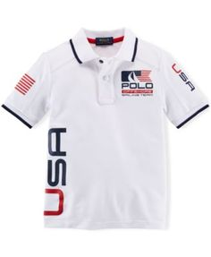 Ralph Lauren Little Boys' Nautical Polo