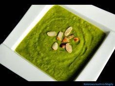 Kolorowa Kuchnia Magdy: Krem z brokułów z rukolą