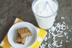 Muffinmax Choco-bananes & Lait frappé à la noix de coco // Muffinmax Choco-Banana & coconut milkshake