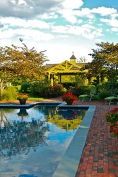 Just pools and water features!! - Traditional - Pool - New York - Liquidscapes