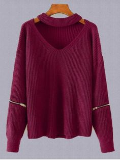 GET $50 NOW   Join RoseGal: Get YOUR $50 NOW!http://www.rosegal.com/plus-size-sweaters-cardigans/plus-size-choker-sweater-869743.html?seid=948764rg869743