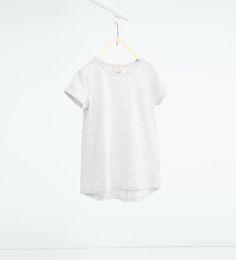 Imagen 1 de Camiseta básica de Zara
