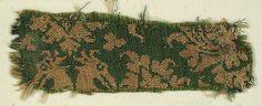 Textile with Figures Date: 14th century Culture: Italian Medium: Silk