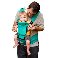 BabySteps Ergonomic Baby Carrier with Hip Seat for All Seasons, 6 Comfortable & Safe Positions for Infant & Toddlers, 48.8'' Maximum Adjustable Waistband, Perfect for Alone Nursing and Hiking. ERGONOMIC 6-IN-1 BABY CARRIER WITH HIP SEAT: BabySteps baby carrier allows you to carry your infant or toddler in any position that suits your needs: Front inward (at least 3 months), front outward (at least 6 months), single strap carrier(at least 3 months), hip seat (single use) and back carry (at...