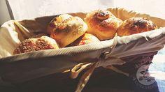 Lemon and Strawberries: Homemade breakfast buns