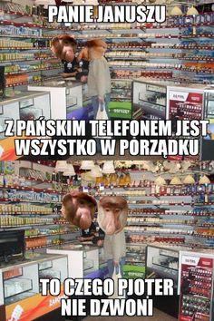 Panie Januszu, z pańskim telefonem jest… – eHumor.pl – Humor, Dowcipy, Najlepsze Kawały, Zabawne zdjęcia, fotki, filmiki