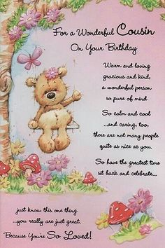 Happy Birthday Cousin Quotes Female