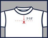 Cricut on pinterest 128 pins for Dress shirt monogram placement