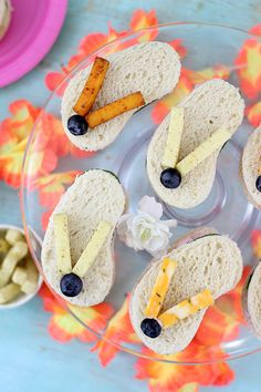 Flip Flop Sandwiches for Summer Fun