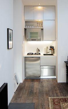 efficient kitchen. for my flat in prague.