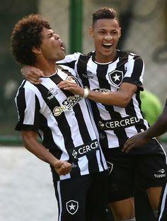 Camilo, Neilton, Botafogo (Foto: Vitor Silva / SSpress / Botafogo)