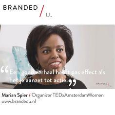 Marian Spier / Organizer TEDxAmsterdamWomen