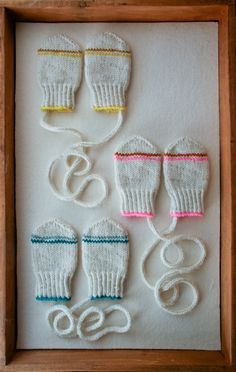 Laura's Loop: Infant Mittens  *Free Pattern from The Purlbee