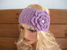 Womens Headband Crochet Headband Winter ♥ by creationsbyellyn, $10.50