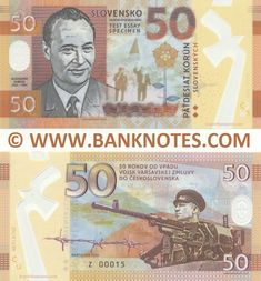 Slovakia Currency Banknote Gallery Money Template, Passport Card, Money Notes, Europe Destinations, Baseball Cards, Coins, Money, Silver, Tourism