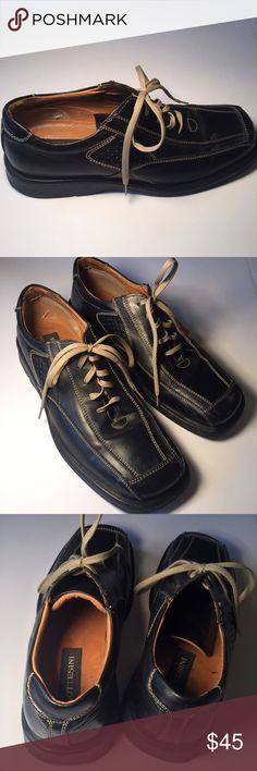Beautiful Bottesini Sq Toe These are a fine pair of Italian made shoes. EUC, upper and tread near perfect shape. Subtle stitching matches the strings making these shoes versatile with black or brown outfits. Bottesini Shoes Oxfords & Derbys