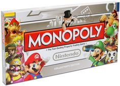 R$159.90 Monopoly Nintendo Collector's Edition