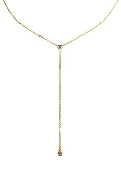 Single Bezel Lariat by HYSTERIC Co