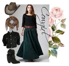 """""""Cowgirls"""" by lepuzzle on Polyvore featuring Not Rated, Jean-Paul Gaultier, Etro, women's clothing, women, female, woman, misses and juniors"""