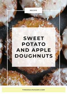 A delicious vegan sweet potato and apple recipe that will make you forget all about Dunkin' Donuts.