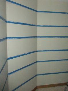 Just Another Hang Up: Painting Stripes on Textured Walls using a secret weapon!  :)