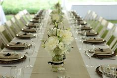 Elegant DIY Wedding Centerpieces | Previously featured on Martha Stewart Weddings