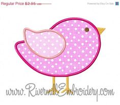 Little Bird Applique