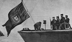 Requisição dos navios alemães - Ilustração Portuguesa - 6 Março 1916. Um dos actos que levou à guerra com a Alemanha.