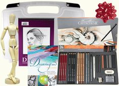 Art Gift Set & Art Package Sets Exclusively at Rex Art Gifts For Art Lovers, Lovers Art, Gift Packaging, Art Drawings, Polyvore, Design, Gift Wrapping, Wrapping Gifts
