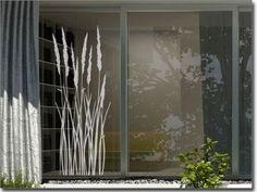 Window Art, Window Film, Window Stickers, Window Decals, Modern Bungalow House, Sand Glass, Boutique Decor, Most Beautiful Wallpaper, Sliding Windows