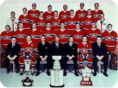 1969 Montreal Canadiens - Stanley Cup Champions