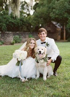 10 best Southern weddings! wedding-dog