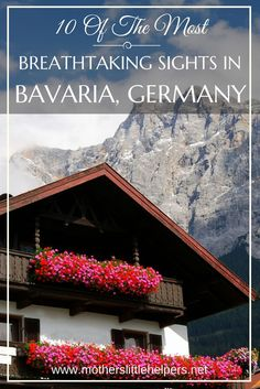 10 Of The Most Breathtaking Sights in Bavaria Germany From the Bavarian Forest to Neuschwanstein Castle, these are the places you'll want to have on your itinerary! Munich, Budapest, Bavarian Forest, Neuschwanstein Castle, European Home Decor, Bavaria Germany, Augsburg Germany, European Travel, Travel Europe
