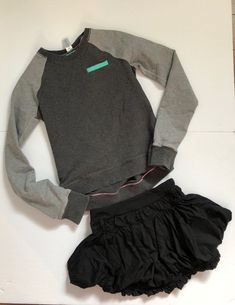 Ivivva 2 Piece Lot Size One sweater and one skirt. Kids Outfits, Cute Outfits, Lulu Love, Sweater Skirt, Sweatshirts, Makeup, Skirts, Sweaters, How To Wear