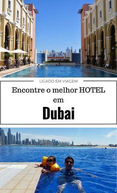 Encontre a melhor região e hotel para sua hospedagem numa viagem para Dubai nos Emirados Árabes Unidos.
