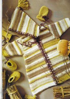 Crochet a la moda!!!...: bebes